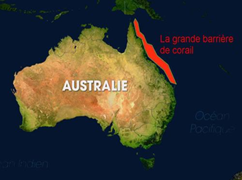 Carte Australie Grande Barriere De Corail.La Grande Barriere De Corail Janvier Fevrier Et Mars 2018