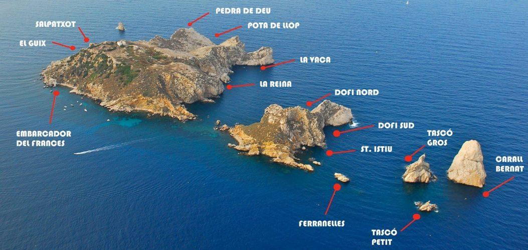Carte des Iles Mèdes