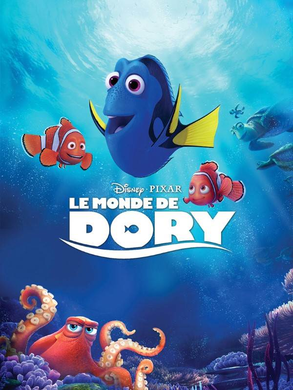 Le monde de Dory, visuel VOD.