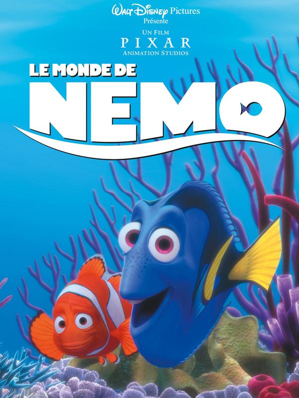 Affiche Monde de Nemo red